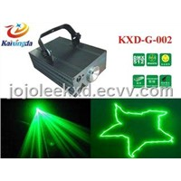 Disco Green Laser Light