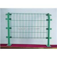 double coil fence