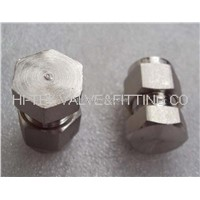 double ferrule tube fitting,tube cap