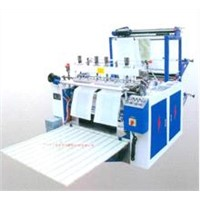 Double Layer Plastic Bag Making Machine for Cosmetic Bag