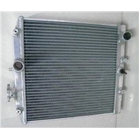 for TOYOTA SUPRA TURBO auto and manual high performance all aluminum racing car radiator