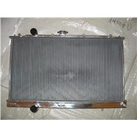 for auto and manual high performance all aluminum racing car radiator