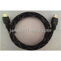 High Speed HDMI Cable 1080P with Nylon Sleeve