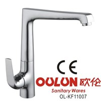 kitchen sink faucet, water tap with brass body chrome plated