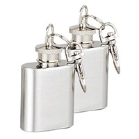 mini hip flask with key chain