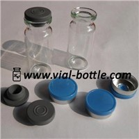 Molded Injection Vials for Pharmaceutical Use with Vial Stopper and Cap