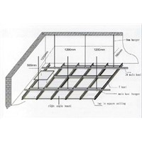 Suspended Ceiling Metal Grids