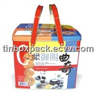 Cookies Tin Packaging Box
