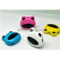 Mini Frog 4 port usb2.0 hub
