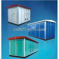 HYB (W) -12/0.4 Outdoor Box Type Transformer Substation (Color Steel Plate)