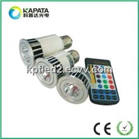 E27 5W RGB LED Lamp