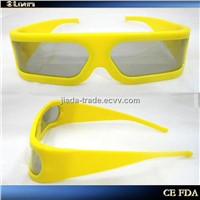 2011 Latest Plastic 3D Glasses