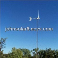 Horizontal Axis Wind Turbine With 5KW Out Diameter Of Wind Wheel Measuring6m