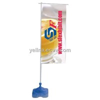 3m Flag Banner Stand
