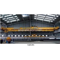 Electromagnet Overhead Crane with Main Hook