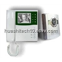 "B/W 4"" Video door phones"