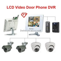 DIY kits video door phone dvr