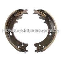 Forklift Parts S6S Brake Shoe For MITSUBISHI