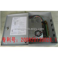 CCTV 9 Way Power Supply