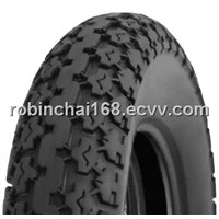 Motorcycle tyre and tube