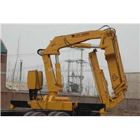 10000Kg Knuckle Boom Truck Mounted Crane