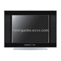 "17""pure CRT TV and color television"
