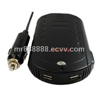 200W DC AC inverter with USB and universal outlet