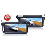 "2011 new 12.3"" Sun visor monitor with Sharp Digital Panel"