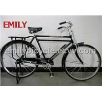 "28"" Double Bar Double Tube Classical Men Dutch Bicycle"