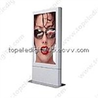 55 Inch LCD Digital Signs for Advertising Display with Stand
