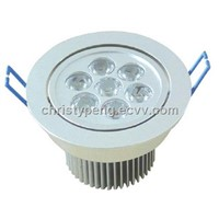 7W LED downlight