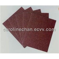 Abrasive emery cloth sheet