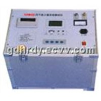 Anti-jamming automatic dielectric loss tester