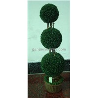 Artificial plastic boxwood topiary tree plant for wedding home garden decoration