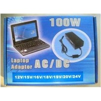 Automatic Universal Laptop/notebook Power Adapter 100W