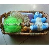 Bath Scruber Set