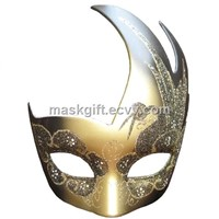 Black & Gold Carnival Eye Mask