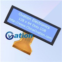 COG type 128 x 32 graphic lcd module
