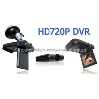 "Car Camera Security Video Recorder with 2.5""TFT LCD Screen"