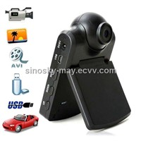 Car Video Recorder Camera With LCD Screen Display