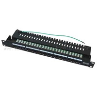 Cat3 25 port telephone patch panel