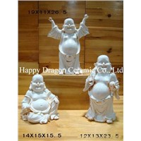 Ceramic Happy Buddha Statues