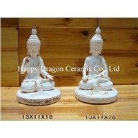Ceramic Buddha Statues,Fengshui Products,Decorative Arts,Figurines