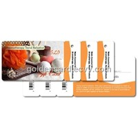 Combo Card with Three Key Tags (GC-10001-CW3KT)