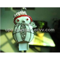 Diamond Snowman Shaped Flash