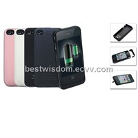 External Battery Case(Compatible with iPhone4 GSM, iPhone4 CDMA)