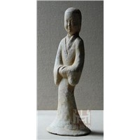 Fine china clay figurine/painted