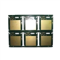 Four-layer PCB with Gold-plated Surface Finish and Minimum Line Space of 0.2mm