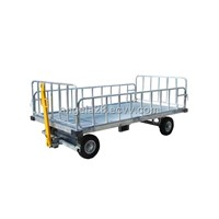 Four-Rail Baggage Cart