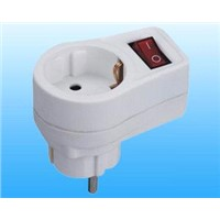 GS/CE approved power adapter with switch